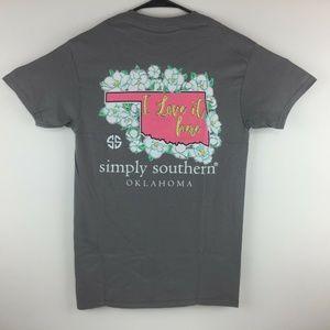 Simply Southern Oklahoma Short Sleeve T-Shirt